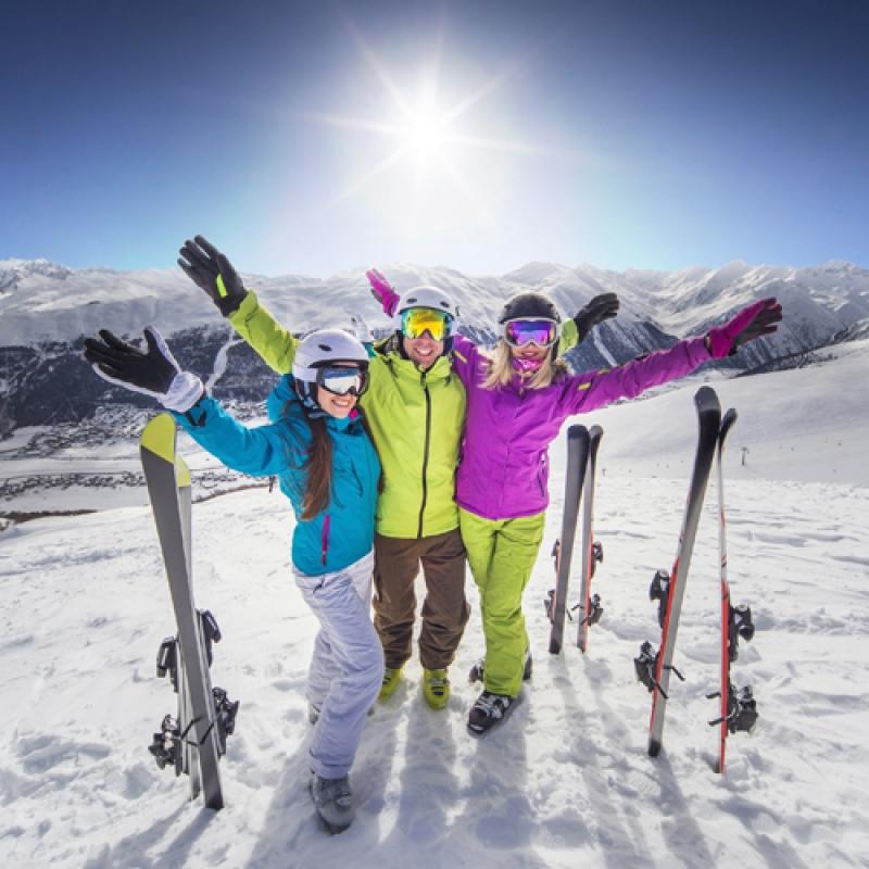 Skifahren ohne Anstehen