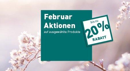 Monatsaktionen Februar