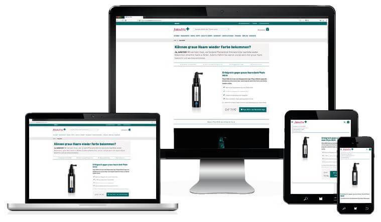 Responsive Design - Ihre Webseite wird auf alle Geräte optimiert