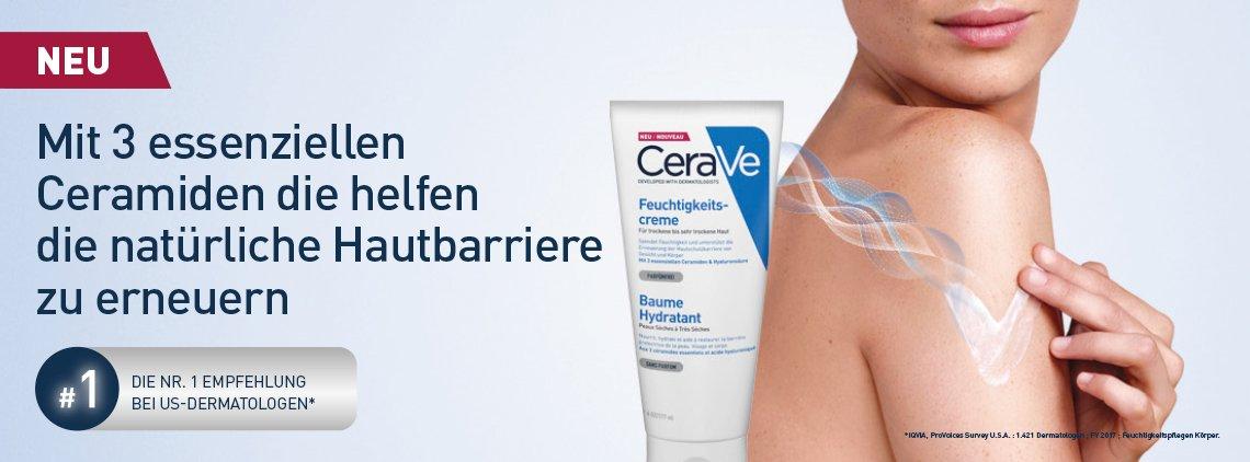 CeraVe soins hydratants peaux sèches