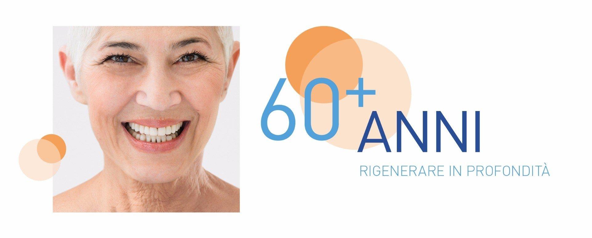 dermo-expert 60 anni